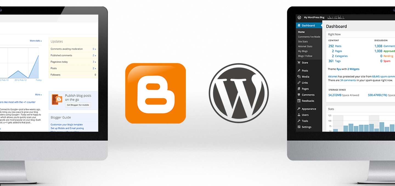 Μεταφορά Blogger/Blogpost σε WordPress